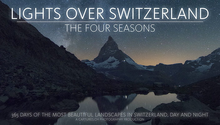 Lights over Switzerland - The four seasons