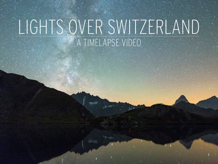 Lights over Switzerland